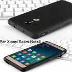 Protection 360° Shockproof Soft Rubber Back Case Cover For Xiaomi Redmi Note 3