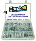 SPECBOLT CUSTOM M6 REDUCED HEAD FLANGE BOLT KIT MOTORCYCLE ATV ENGINE CRANKCASE