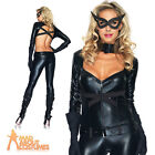 Adult Sexy Cat Woman Catsuit Costume Ladies Halloween Fancy Dress Outfit New