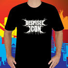 New Despised Icon Deathcore Band logo Men's Black T-Shirt Size S to 3XL