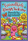 "Grandkids Welcome House Flag Candy Family Bird Decorative 28"" x 40"""