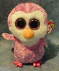 W-F-L TY Beanie Boos Glubschis Pinguin Eule Auswahl Stofftier Papagei