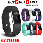Fitbit Charge 2 Bands Replacement Silicone Gel Strap Bracelet Wristband Sport