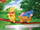 Pooh Tigger Eeyore Piglet Park Christmas cotton quilting fabric **Choose design