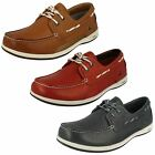 Mens Clarks Lace-Up Boat Shoes Orson Harbour