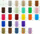 1.5mm 100% Nylon Twisted Cord Thread Macrame Beading Crochet Hand Crafts Artisan