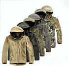 Men Outdoor Jacket Waterproof TAD Coat Sports Shark Skin Soft Shell Hoodie ESDY