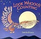 Look Whooo's Counting by Suse MacDonald c2000, VGC Hardcover