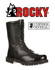 "NEW Rocky Mens Black Side Zipper 10"" Tactical Jump Boot - All Sizes - 2090"
