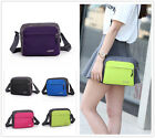 DUO Sport Pure Color Men Women Shoulder Messenger Small Bags Cross Body Handbag