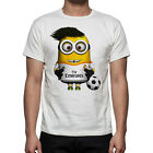 Minions Depicable Me 2 Real Madrid Exclusive Design Kids Boys Mens T Shirt M.41