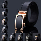 Waist Strap Leather Business Belts Black Buckle New Men's Automatic Genuine