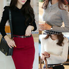 Women's Casual Tops New T-Shirt Loose Fashion Blouse Coat Sweater Long Sleeve