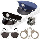 POLICE NEW YORK HAT CAP HANDCUFFS SUNGLASSES BADGE FANCY DRESS COSTUME OUTFIT