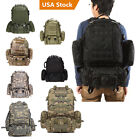 55L Molle Tactical Outdoor Assault Military Rucksack Backpack Bag Pack BL002 New