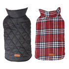 Waterproof Pet Dog Clothes Puppy Winter Warm Plaid Vest Jacket Coat XS-XXXL Size
