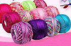 Lizbeth  cotton thread size 10 -20-3 crochet tatting select size and color