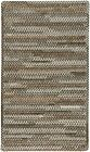 """Capel Rugs """"Habitat"""" Soft Chenille Cross Sewn Braided Country Rug Marble #320"""