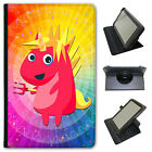 Mythical Magical Unicorns Dressing Up Universal Leather Case For Linx Tablets
