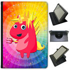 Mythical Magical Unicorns Dressing Up Universal Leather Case For Sony Tablets