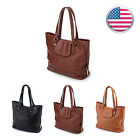 Women Leather Handbag Shoulder Hobo Purse Messenger Satchel Crossbody Tote Bag
