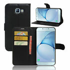 Flip Magnetic Card Slot Wallet PU Leather Stand Case Cover For Samsung Galaxy A8