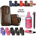 New Pull Up Tab Sleeve Phone Protective Leather Case Cover For XGODY Phone Model
