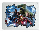 Marvel DC Avengers Ipad Laptop Desktop Vinyl Sticker Skin - Deadpool Batman