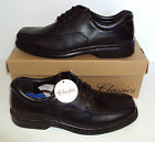 New Men's ANDREW Classics Formal Black Lace Up Wedding Office Shoes Size UK 8