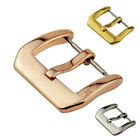 Stainless Steel Watch Band Pin Buckle Parts Strap Clasp 8 10 12 14 16 18 20mm image