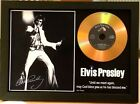 ELVIS PRESLEY SIGNED PHOTO WITH GOLD DISC Jailhouse Rock, Always On My Mind.....
