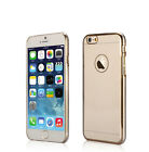 Ultra Thin Gold frame + PC Phone Cover Slim Armor Case For Apple iPhone 6 6Plus