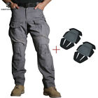 Emerson Tactical G3 Combat Pants w/ Knee Pads Hunting Trousers Paintball GrayTactical Clothing - 177896