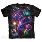 Unicorn Cosmos T Shirt by The Mountain Fantasy Horses Space Sizes S 5X NEW