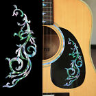 Gothic Line/DS (Abalone-Mixed)  Traditional Vine Inlay Sticker Decal For Guitar