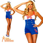 High Seas Honey Costume Sexy Sailor Girl Fancy Dress Leg Avenue Ladies Outfit