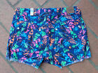 GIRLS NEON ORANGE,  FEATHER PRINT JUSTICE SHORTS (CHOOSE SIZE & COLOR (NEW) $40
