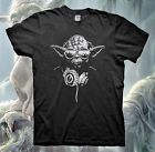 DJ YODA T-Shirt STAR WARS Jedi Darth Vader Baby Poster Force Awakens Empire $12.99 USD on eBay