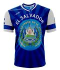 El Salvador and USA Jersey Arza Design for Kids, Boys and Adults.