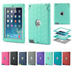 NEW Shock Proof Builders Heavy Duty Tough Protect Case Covers for iPad 2 3 4 9.7