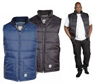 D555 Mens Quilted Padded Gilet Bodywarmer Black Navy Jacket S M L XL XXL