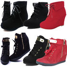 NEW KID ANKLE BOOT GIRL SHOE WEDGE LOW HEEL TODDLER & YOUTH SUEDE WINTER BOOTIE