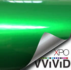 VViViD Liquid Metal Lime Green vinyl car bike boat wrap Gloss film 3Mil