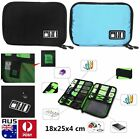 Travel Case Card Digital Storage Bag for Earphone Data Cables USB Flash Drives