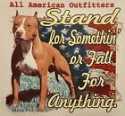 PITBULLS STAND FOR SOMETHING OF FALL 4 ANYTHING #549 LONG SLEEVES SHIRT