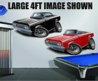 1964 Oldsmobile Cutlass 350 Wall Poster Decal Man Cave Graphics Garage Stickers