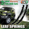 PAIR Front 40mm EFS RAISED LEAF SPRING for FORD F250 2WD 4WD V8 DIESEL 2000 ON