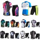 Cycling Outdoor Bicycle Suit Rock Racing Sport Clothing Jersey Short Pants Set