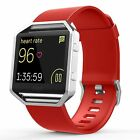 Silicone Replacement Watch Band Strap Bracelet Watchband For Fitbit Blaze Watch