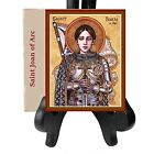 Saint Joan of Arc Maid of Orleans Patron Saint of Soldiers and France Porcelain